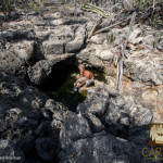 Model: Yago Rodriguez  Doline with cave entrance.
