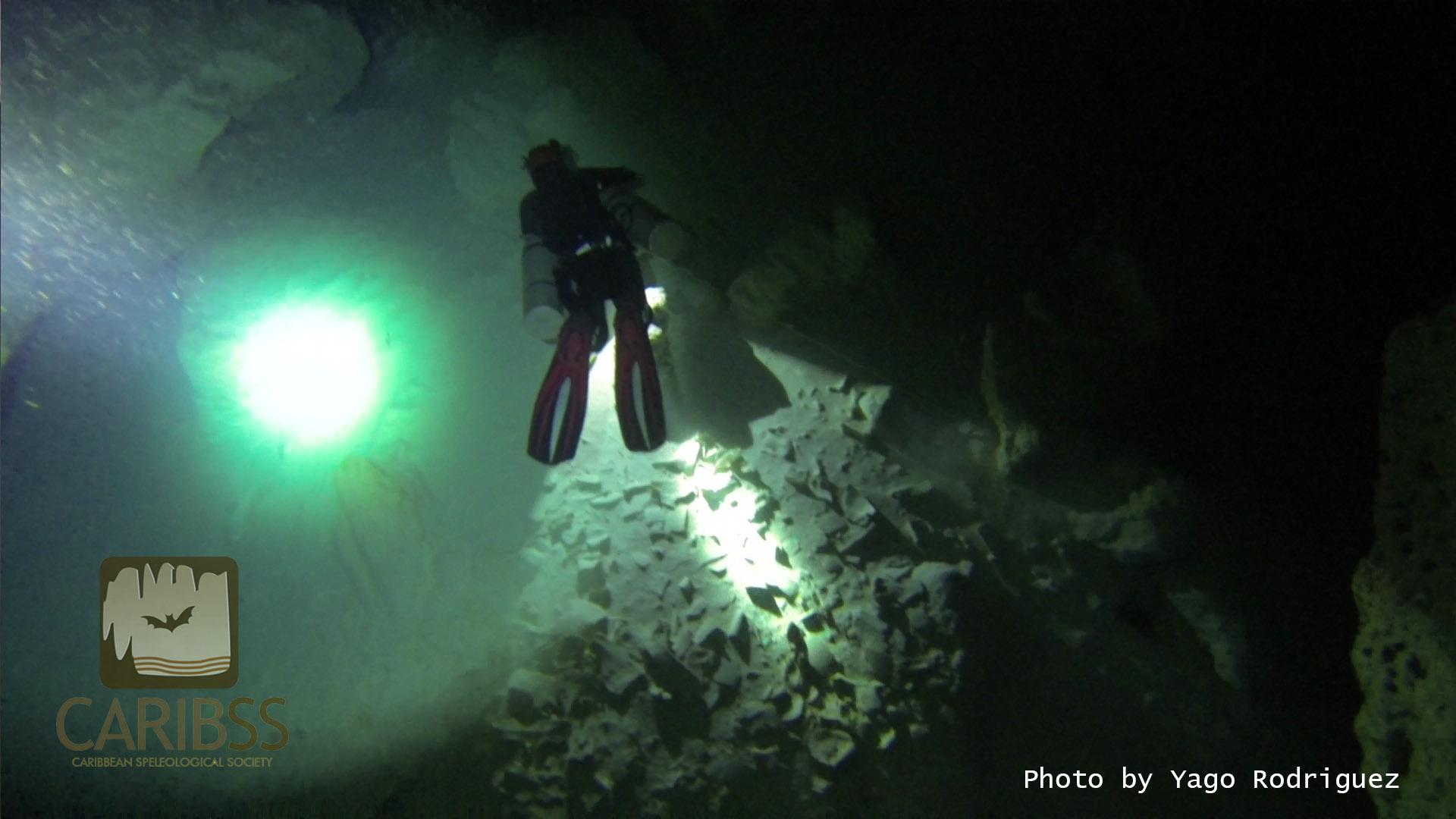 Model: Tamanae Vargas Salazar  Cave floor littered with bones.